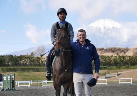 Thank you to Boyd Martin for his invaluable contribution to the Godolphin Rehoming Racehorse Retraining Clinic 2018