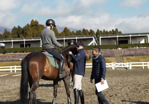 Body assists a rider with positioning to assist the horse in their gait